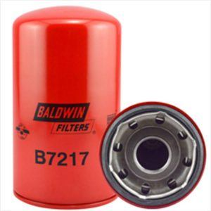 Baldwin B7217 Lube Spin-on Filter - Hitachi ZX200 Zaxis