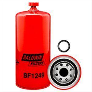 Baldwin BF1249 Fuel/Water Separator Spin-on with Drain - Komatsu PC200-8